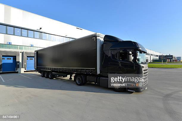 Truck at a loading bay