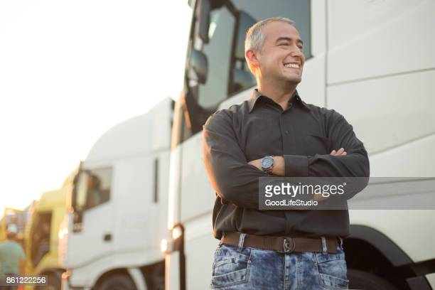 truck driver - trucking stock pictures, royalty-free photos & images