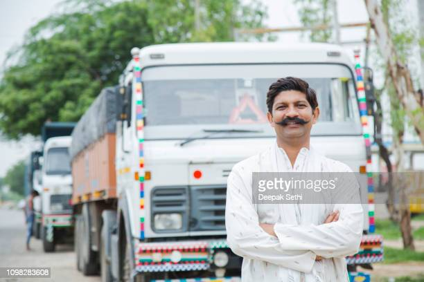 truck driver - stock image - india stock pictures, royalty-free photos & images