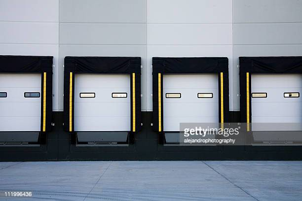 truck loading docks - loading dock stock pictures, royalty-free photos & images