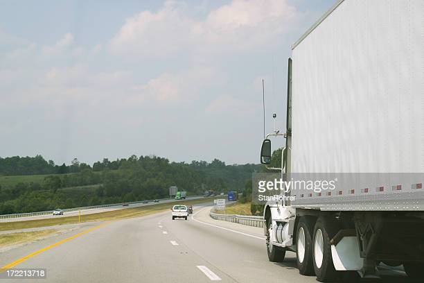 Truck on the Highway