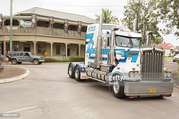 truck parade - international brotherhood of teamsters stock pictures, royalty-free photos & images