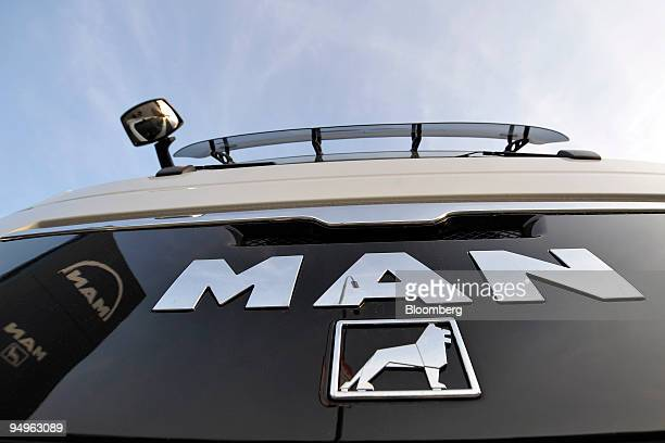 MAN truck sits parked at a MAN dealership in Ingolstadt Germany on Monday Sept 26 2009 MAN SE Europe's thirdlargest truckmaker is seeking...