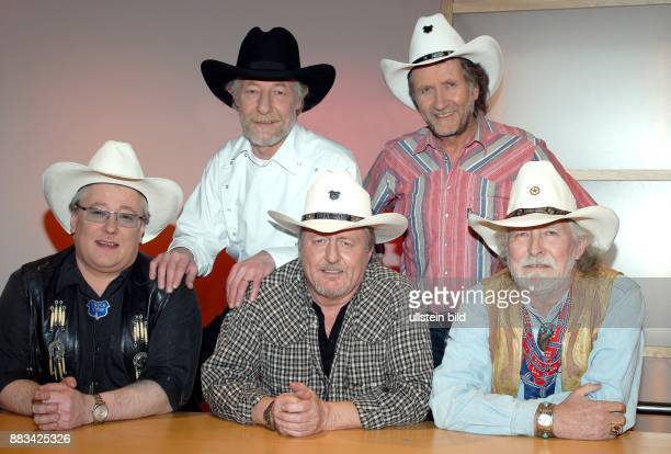 Truck Stop Musikgruppe CountryMusik D vl Knut Teddy Lucius Uwe Cisco