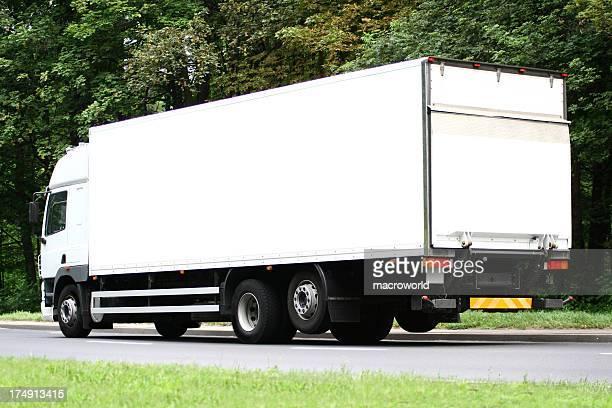 truck: white billboard