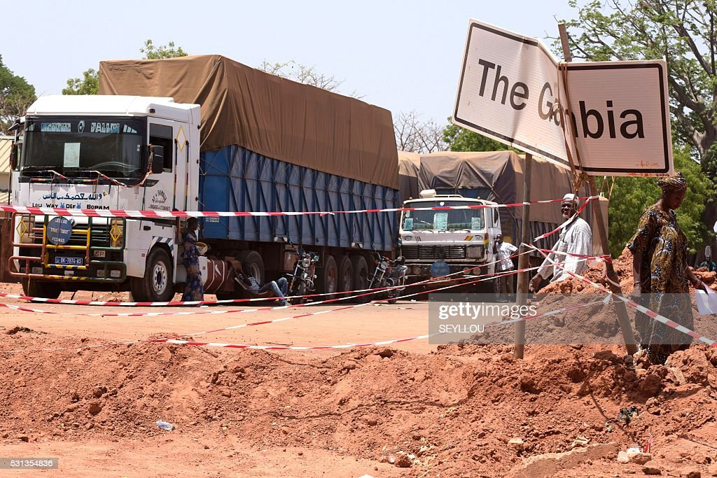 SENEGAL-GAMBIA-DIPLOMACY-TRADE : News Photo