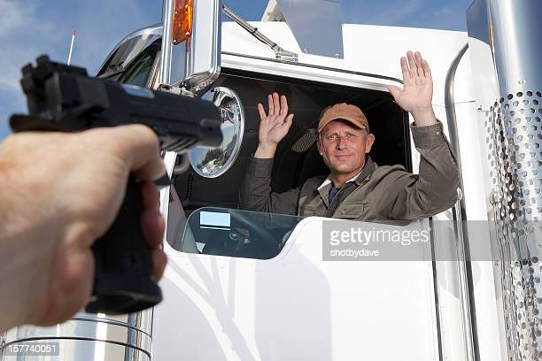 Trucking Holdup