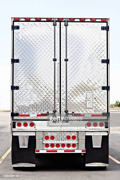 trucking industry - trailer stock pictures, royalty-free photos & images