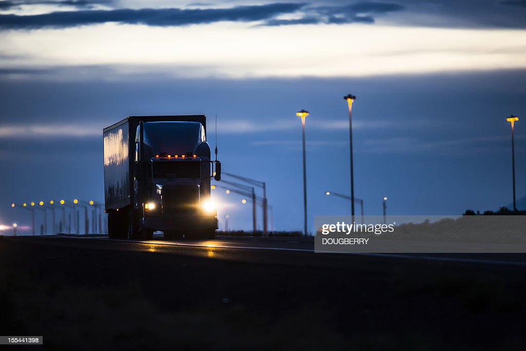 Trucking Industry : Stockfoto