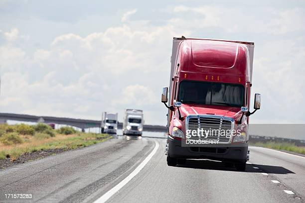 trucking industry - trucking stock pictures, royalty-free photos & images