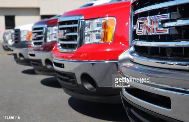 GM Truck im Autohaus