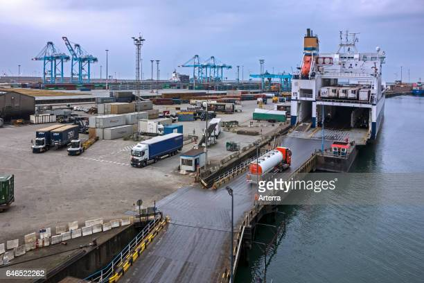 Zeebrugge stock photos and pictures getty images - Where is zeebrugge ferry port ...