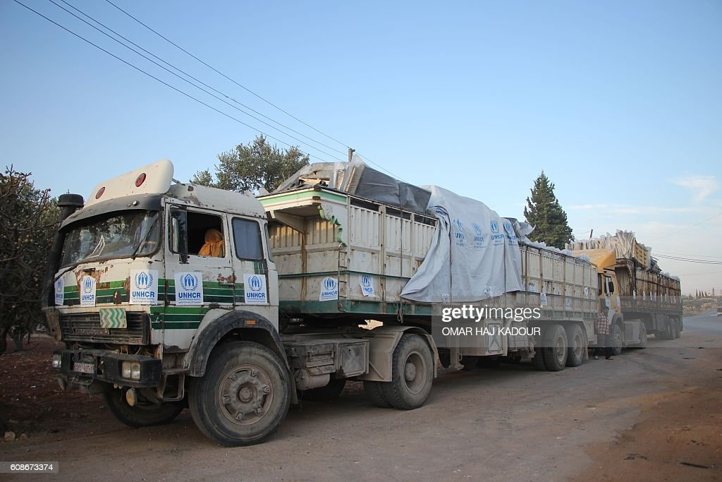 SYRIA-CONFLICT-AID : News Photo
