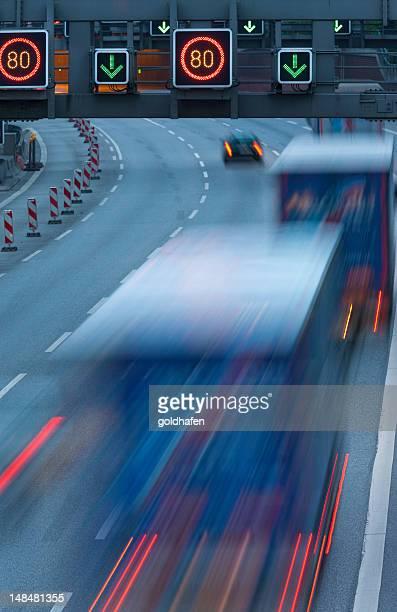 Lastwagen in motion
