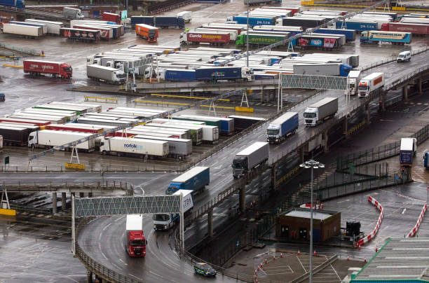 GBR: The Port Of Dover Ltd. As Brexit Border Trouble Grows