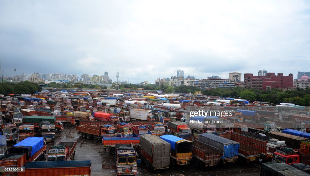Truckers Begin Indefinite Strike