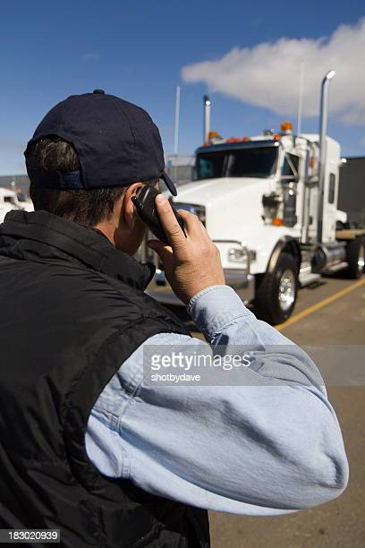 truckstop call - contact list stock photos and pictures