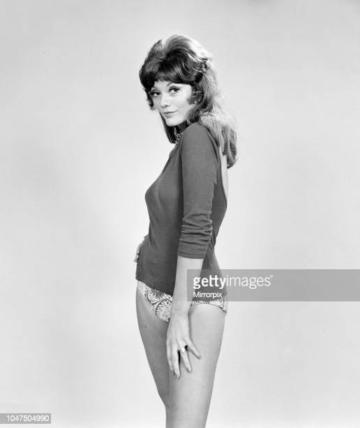 Trudi Van Doorn British actress and model birth name Geraldine Gardner pictured Wednesday 30th August 1972 Trudi has just finished filming ' Not Now...