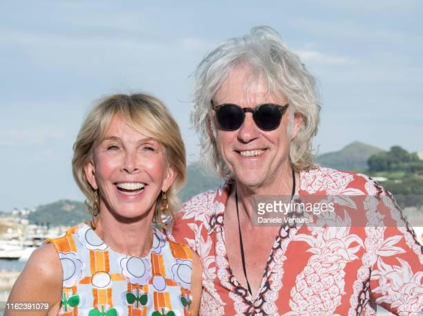Trudie Styler and Bob Geldof attends 2019 Ischia Global Film Music Fest on July 16 2019 in Ischia Italy