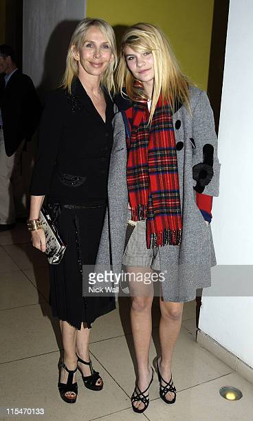 Trudie Styler and daughter during The Times BFI London Film Festival ''Stranger Than Fiction'' Gala Premiere After Party in London Great Britain