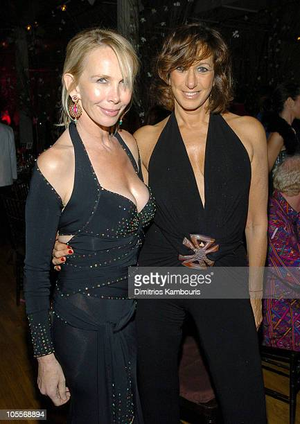 Trudie Styler and Donna Karan during Stars Light Up The 2nd Annual Legends Gala Hosted by OCRF and Loreal at Metropolitan Pavillion and Altman...