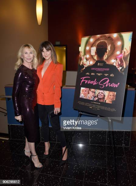 Trudie Styler and Fuschia Sumner attend the Freak Show special screening on January 17 2018 in Los Angeles California