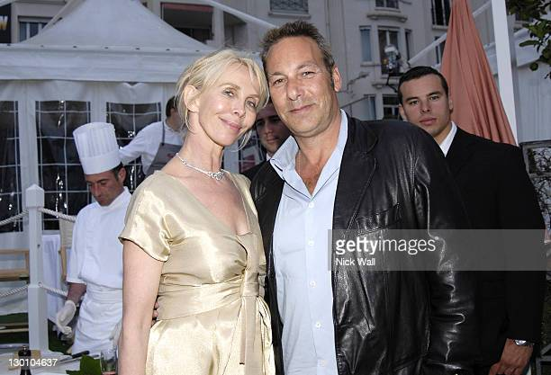 """Trudie Styler and Henry Winterstern during 2006 Cannes Film Festival - """"A Guide To Recognizing Your Saints"""" Dinner in Cannes, France."""