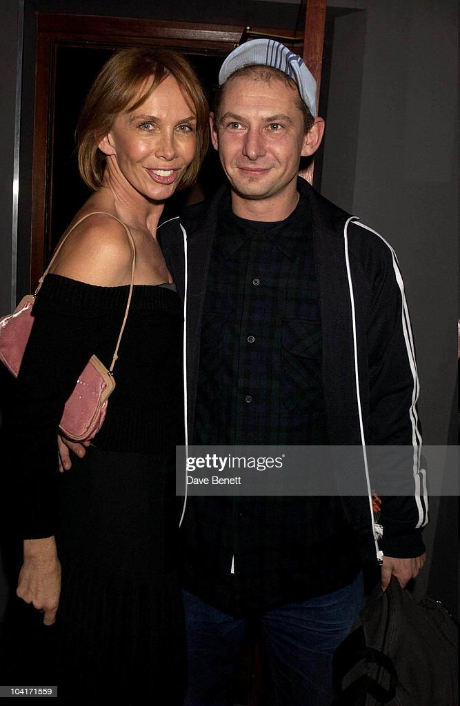 Trudie Styler And Ian Hart, The Singing Detective Movie Premiere At The Everyman Theatre In Hampstead, London