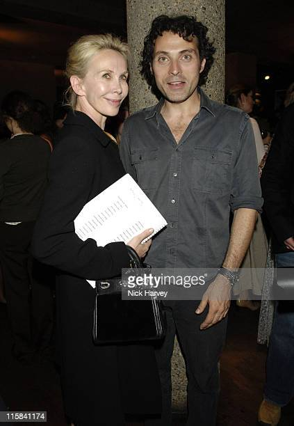 Trudie Styler and Rufus Sewell during Cries from the Heart 2006 A Celebration of Voices for Justice in Support of Human Rights Watch June 18 2006 at...