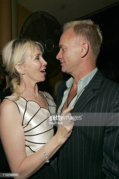 Trudie Styler and Sting during Launch of IFP's Independent Film Week at the NY Premiere of A GUIDE TO RECOGNIZING YOUR SAINTS After Party in New York...