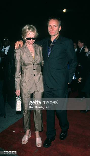 Trudie Styler and Sting during Party for Sean Puffy Combs at the Limelight Club in New York City April 15 1999 at Limelight Club in New York City New...