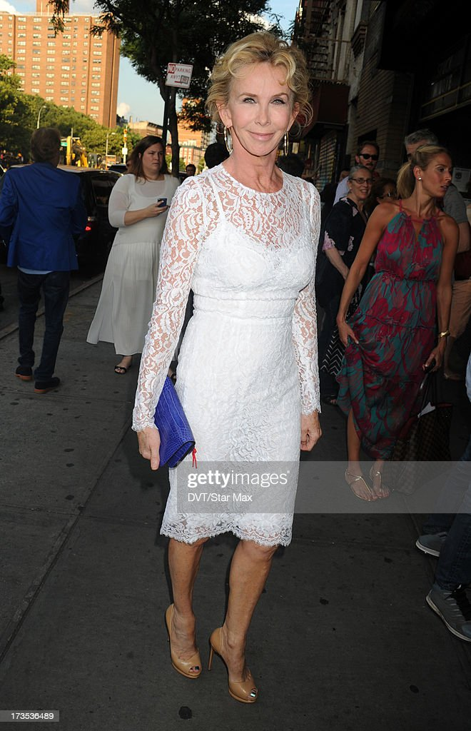 Trudie Styler as seen on July 15, 2013 in New York City.