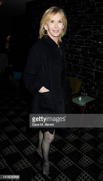 Trudie Styler attends an after party for 'A Memory A Monologue A Rant And A Prayer' a onenight only performance produced by Lauren Prakke and...