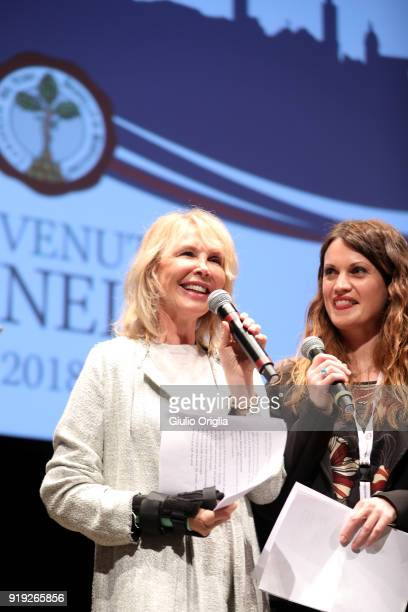 Trudie Styler attends Benvenuto Brunello 2018 at Teatro degli Astrusi on February 17 2018 in Montalcino Italy