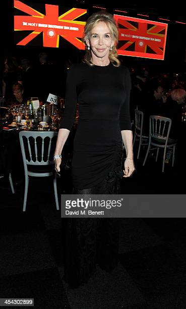 Trudie Styler attends the Moet Reception at the Moet British Independent Film Awards 2013 at Old Billingsgate Market on December 8 2013 in London...