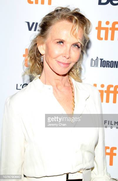 Trudie Styler attends the 'Skin' premiere during 2018 Toronto International Film Festival at Winter Garden Theatre on September 8 2018 in Toronto...