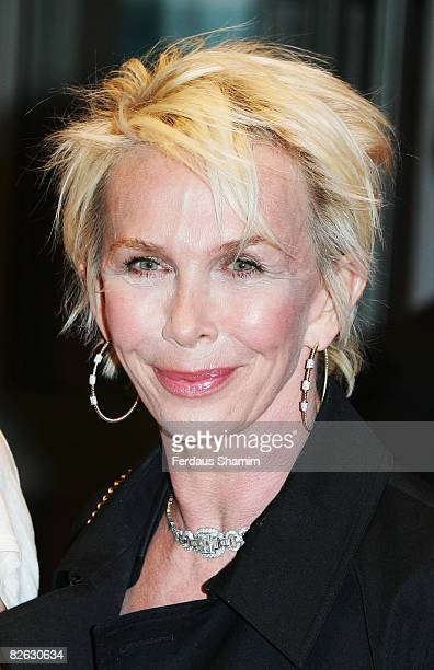 Trudie Styler attends the World Premiere of 'RocknRolla' held at the Odeon West End Leicester Square on September 1 2008 in London England