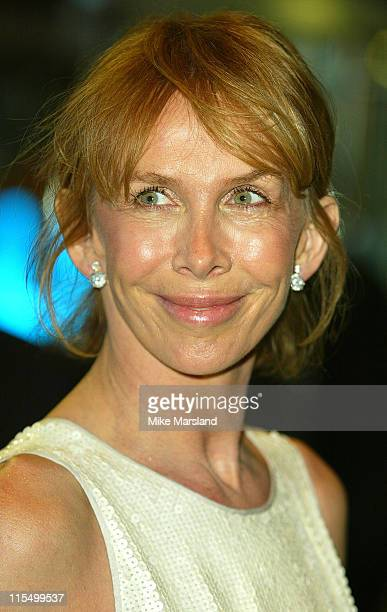"""Trudie Styler during """"Master & Commander: Far Side Of The World"""" - 2003 CTBF Royal Film Performance at Odeon Cinema, Leicester Sq in London, Great..."""