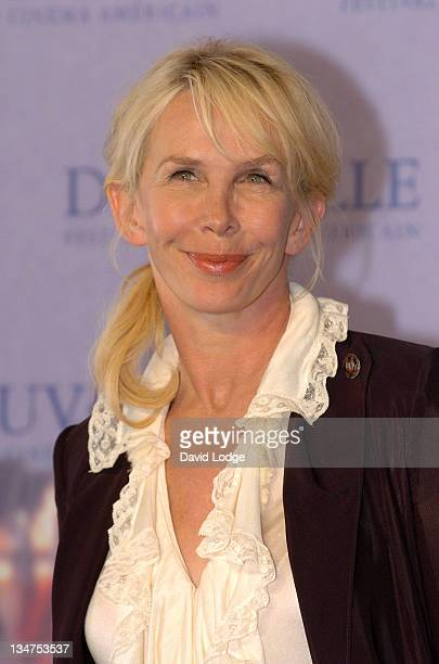 Trudie Styler during The 32nd Annual Deauville American Film Festival - A Guide To Recognizing Your Saints - Photocall at Deauville Film Festival in...