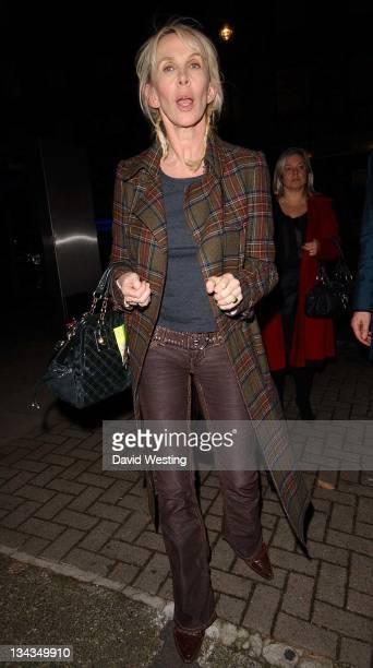 Trudie Styler during Trudie Styler Sighting in London November 24 2006 at Loconda Locatell in London Great Britain