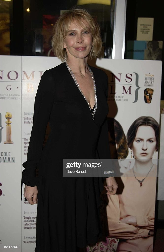 Trudie Styler, 'The Hours' Uk Charity Movie Premiere Held At The Chelsea Cinema In London.