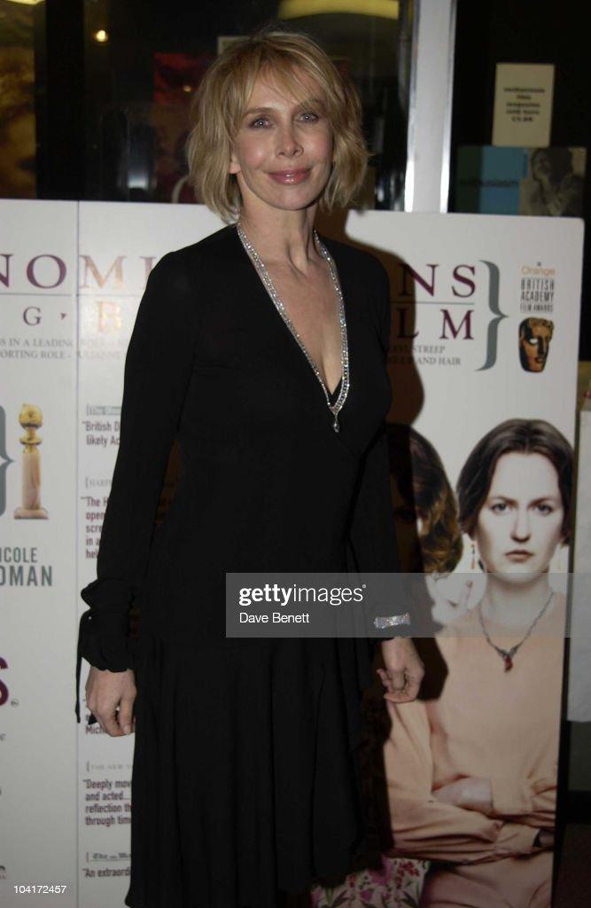 Trudie Styler, 'The Hours' Uk Charity Movie Premiere Held At The Chelsea Cinema In London.