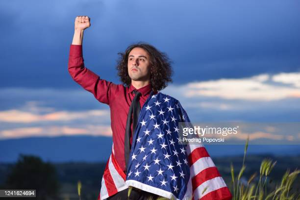 true american patriot - kumanovo stock pictures, royalty-free photos & images