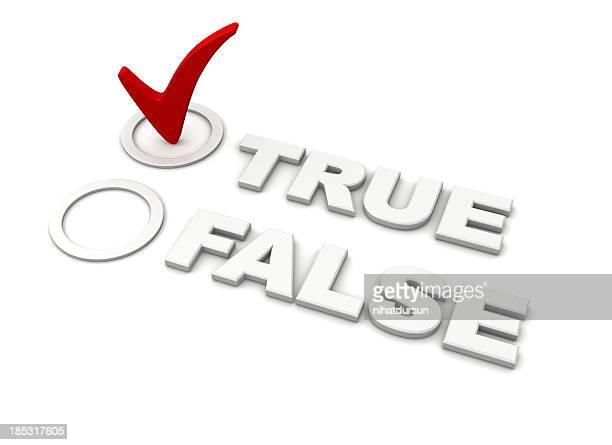 Verdadeiro e Falso