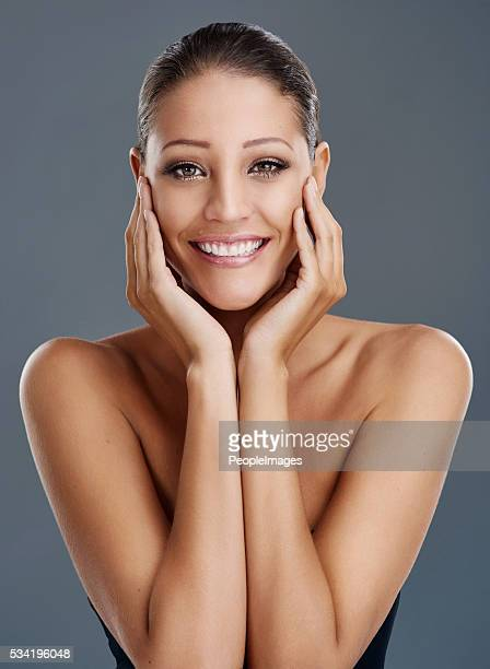 true beauty is feeling good in your own skin - smooth stock pictures, royalty-free photos & images