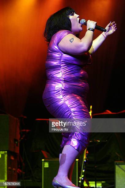 True Colors tour at Radio City Music Hall on Monday night June 18 2007This imageBeth Ditto of the Gossip