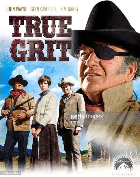 True Grit poster John Wayne Kim Darby glen Campbell 1969