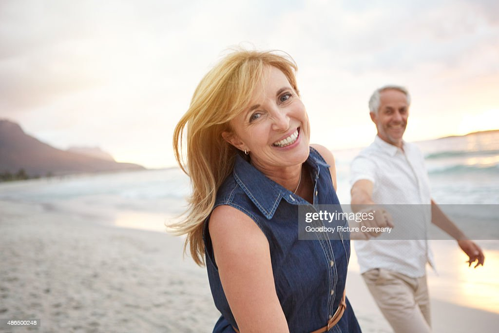 True love keeps the heart young : Stock Photo