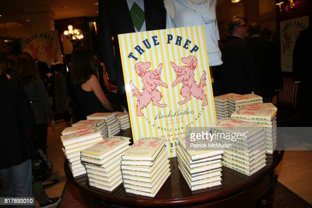 True Prep attends The launch of 'True Prep' at Brooks Brothers on September 14 2010 in New York