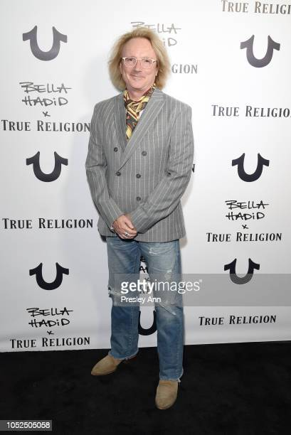 True Religion Brand Jeans John Ermatinger attends Bella Hadid x True Religion Event Campaign Party at Poppy on October 18 2018 in Los Angeles...